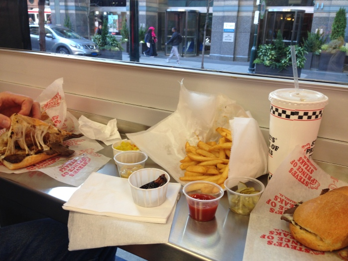 food from Steve's Prince of Steaks Philadelphia Pennsylvania