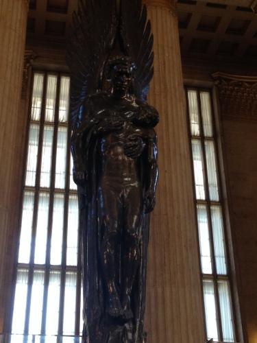 Angel of the Resurrection Philadelphia Pennsylvania Railroad Station