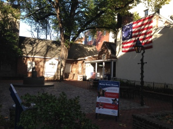 Exterior of Betsy Ross House Philadelphia Pennsylvania