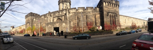 panorama of Eastern State Penitentiary Philadelphia Pennsylvania