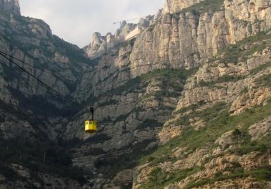 Teleferique to Montserrat