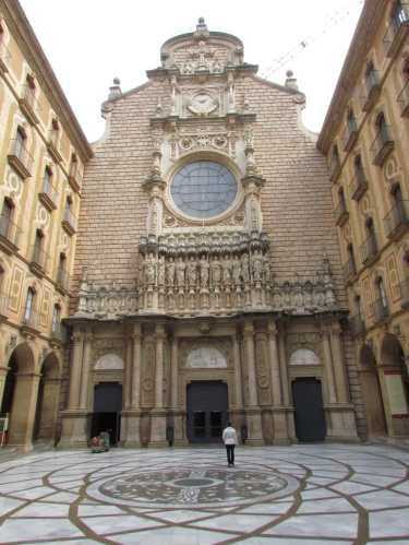 Church at Montserrat Spain