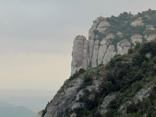 side view of Montserrat Mountain