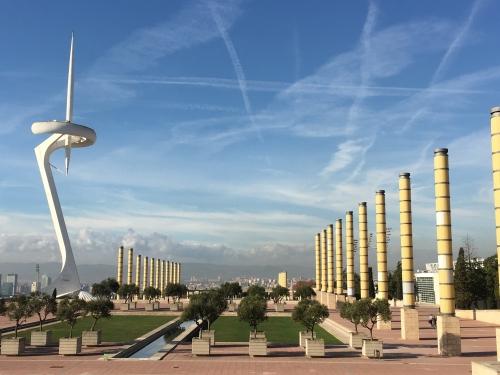 Olympic Park in Barcelona Spain