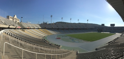 Olympic Stadium in Barcelona