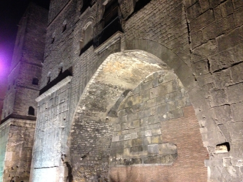 Roman Ruins Barcelona Spain