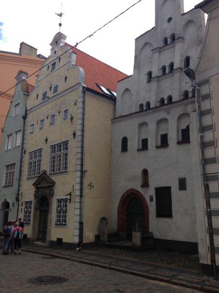 Three Brothers house Riga, Latvia