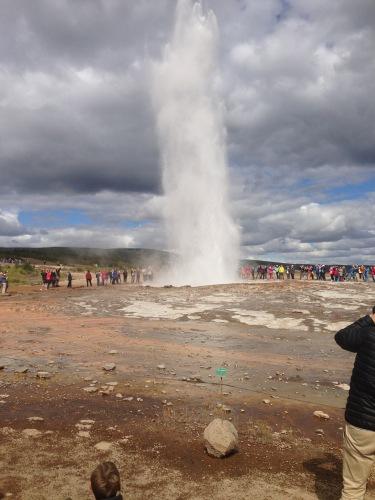 Iceland Geysir Geothermal Park