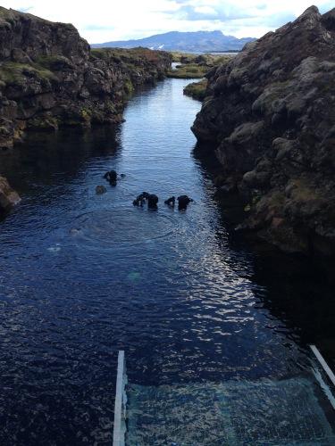 Iceland Silfra fissure