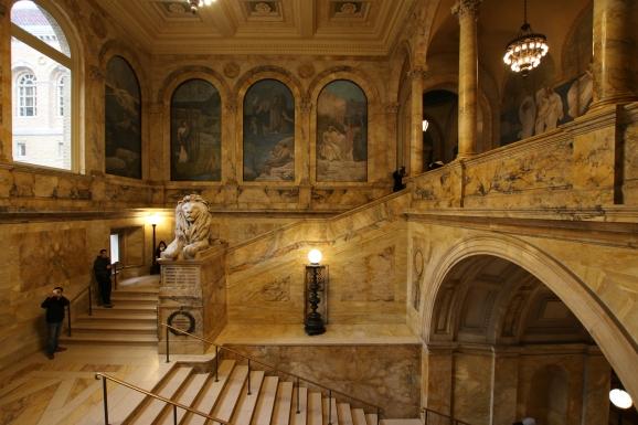 Inside the Boston Public Library