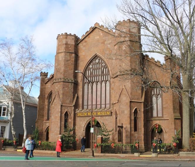 Front Entrance Salem Witch Museum Massachusetts