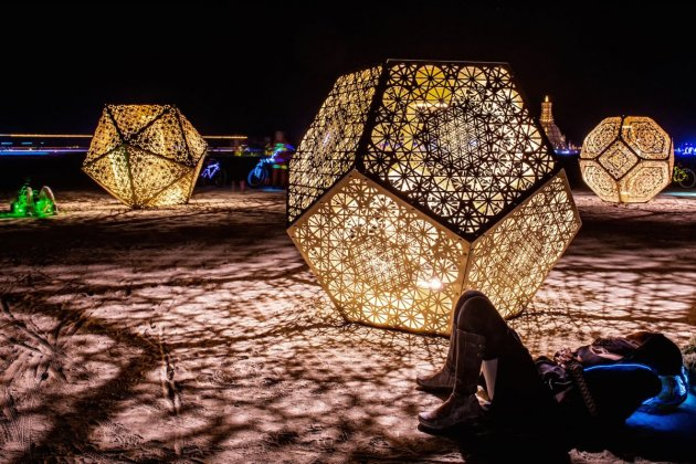Burning Man Art Installation Piece
