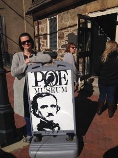 Poe Museum entrance