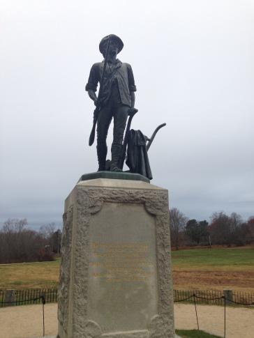 Battle of Lexington and Concord Memorial MA