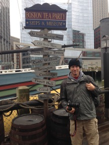 Chris Boston Tea Party Ship Museum Sign