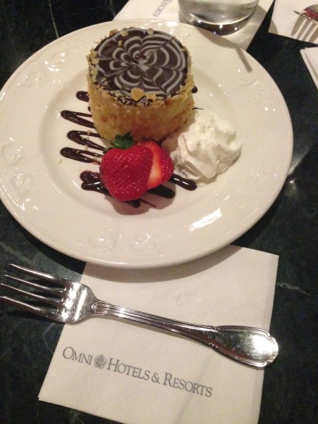Omni Hotel Boston Massachusetts piece of pie