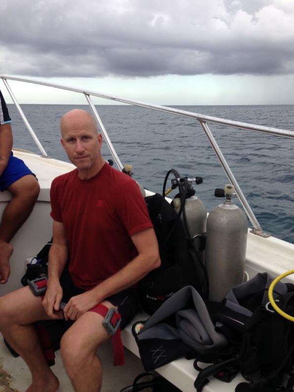Chris, Ready to Dive, Roatan Honduras