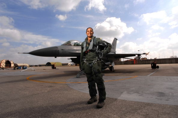 Air Force's first African American female fighter pilot