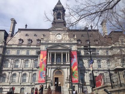 City Hall, Montreal Canada