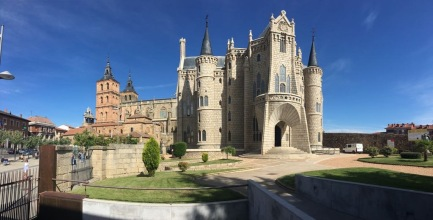 Cathedral on the Camino Santiago