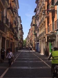 Pamplona, Camino Santiago