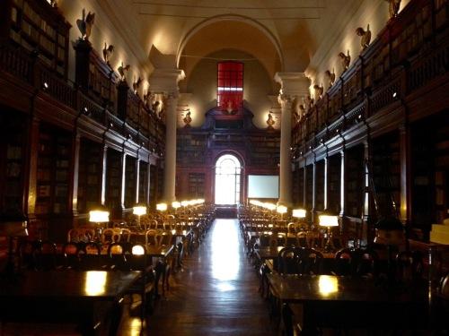 Bologna University Library Italy