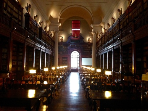 Bologna University Library Italy