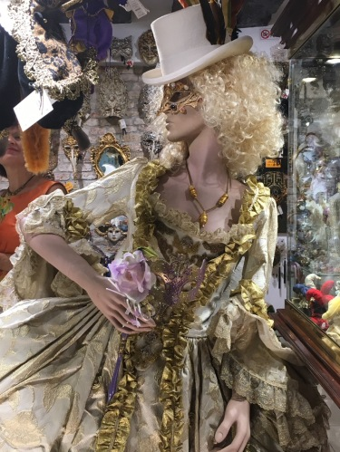 Mannequin Ready for Carnival Venice Italy