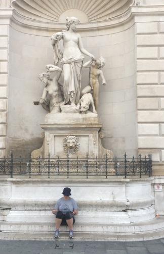 Deah at Plaza Unite della Italia, Trieste, Italy