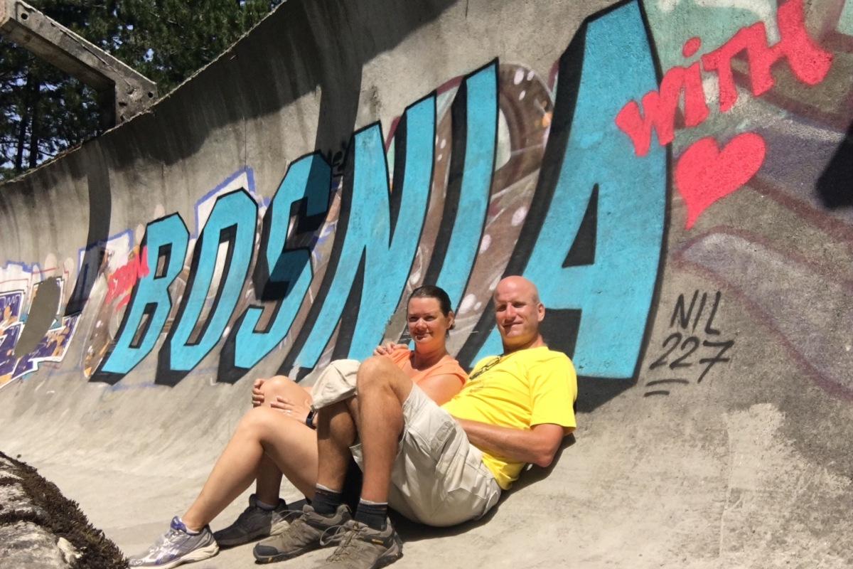 Bosnia Love Olympic Track