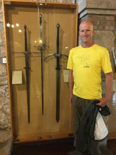 Chris at Arms Museum, San Marino