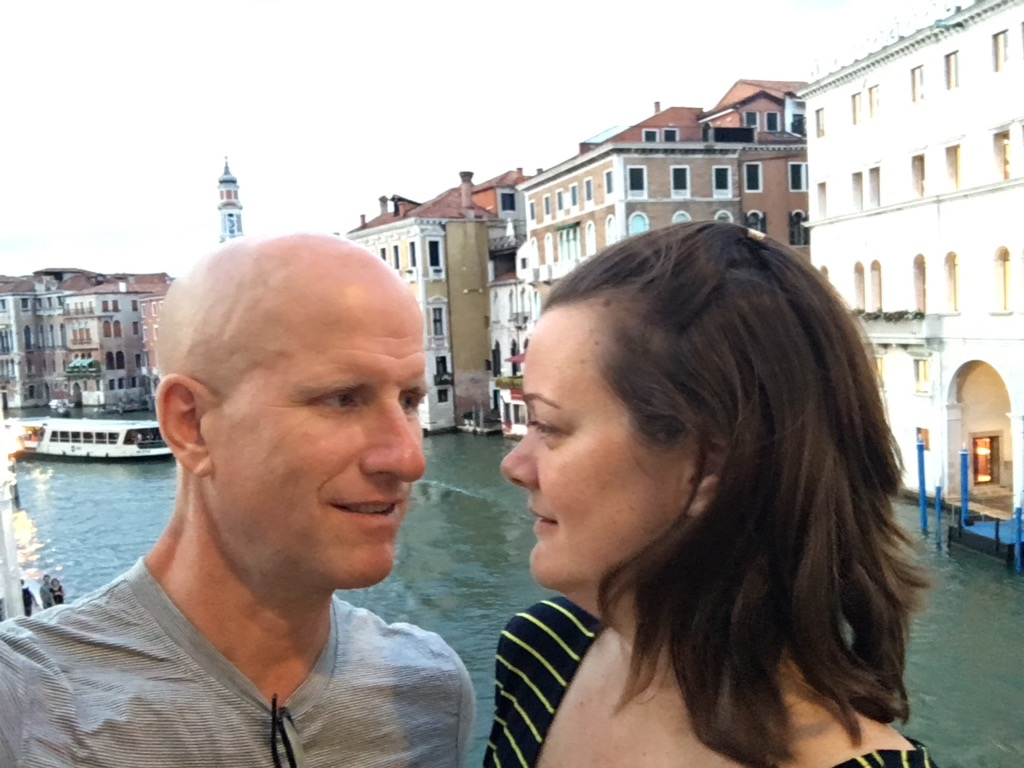 Chris and Deah in Venice Italy