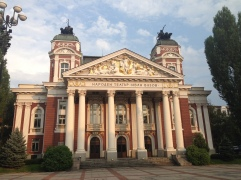 National Theater Sofia Bulgaria