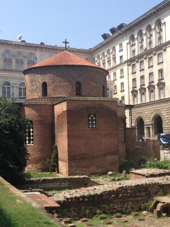 Rotunda Sofia Bulgaria