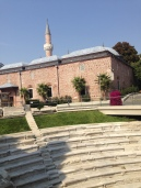 Djumaia Mosque with Roman Stadium in front