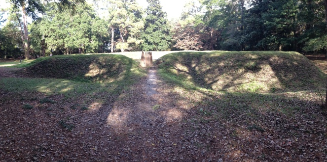palisades and fortress fort raleigh north carolina roanoke lost settlement