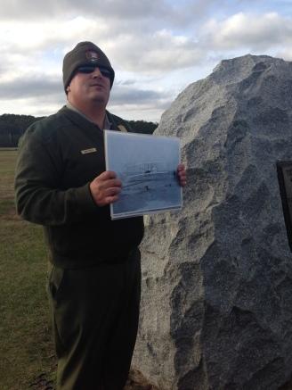 Ranger talk at Kitty Hawk North Carolina Outer Banks