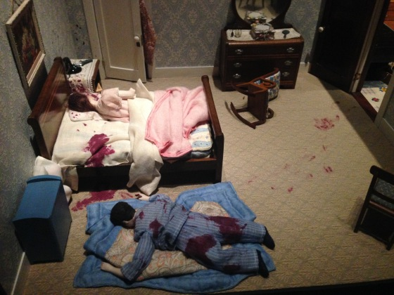 murder dioramas at the Renwick Gallery