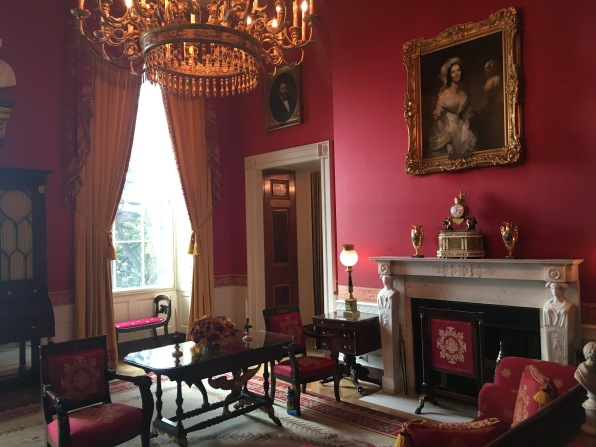 white house tour red room
