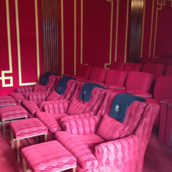 white house tour cinema