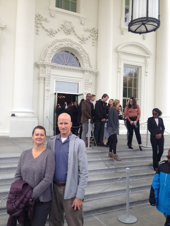 Deah and Chris at the White House