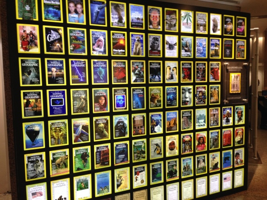 national geographic museum magazine covers
