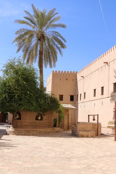 Interior Courtyard Fort nizwa oman