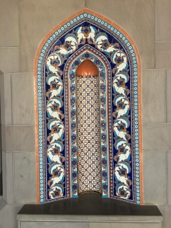 Grand Mosque Sultan Qaboos Muscat Oman