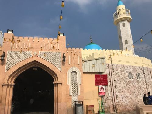 entrance at oman muscat souk