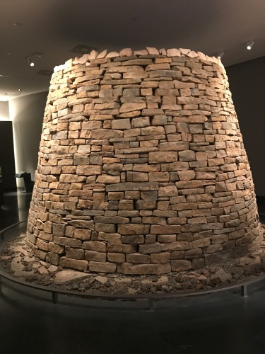 Oman National Museum replica beehive monument muscat