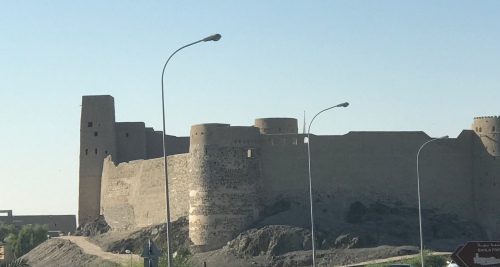 Fort Bahla Oman exterior