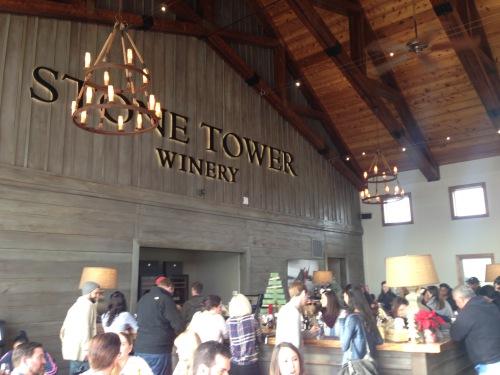 Interior Stone Tower Winery Virginia Loudoun County