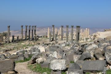 Umm Qais ruins Jordan