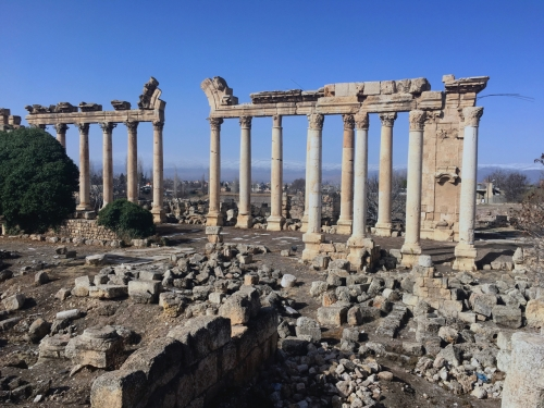 ruins at baalbek lebanon